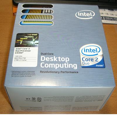 Core 2 Duo E4300 BOX