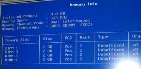 SC440にECCメモリー8GB