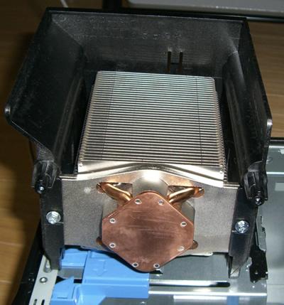 SC440のヒートシンク