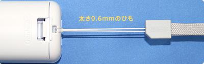 交換対象Wiiストラップ